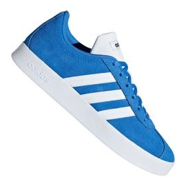 Blue Adidas Vl Court 2.0 Jr F36376 shoes