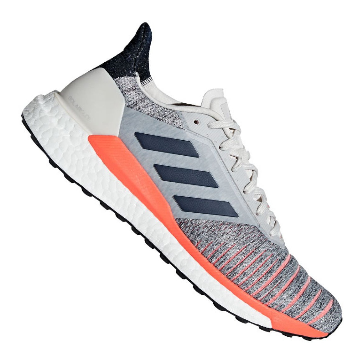 detailed look 1adee fd4a4 Grey Adidas Solar Glide M D97080 shoes