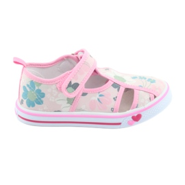 American Club American shoes children's shoes with velcro inlay leather