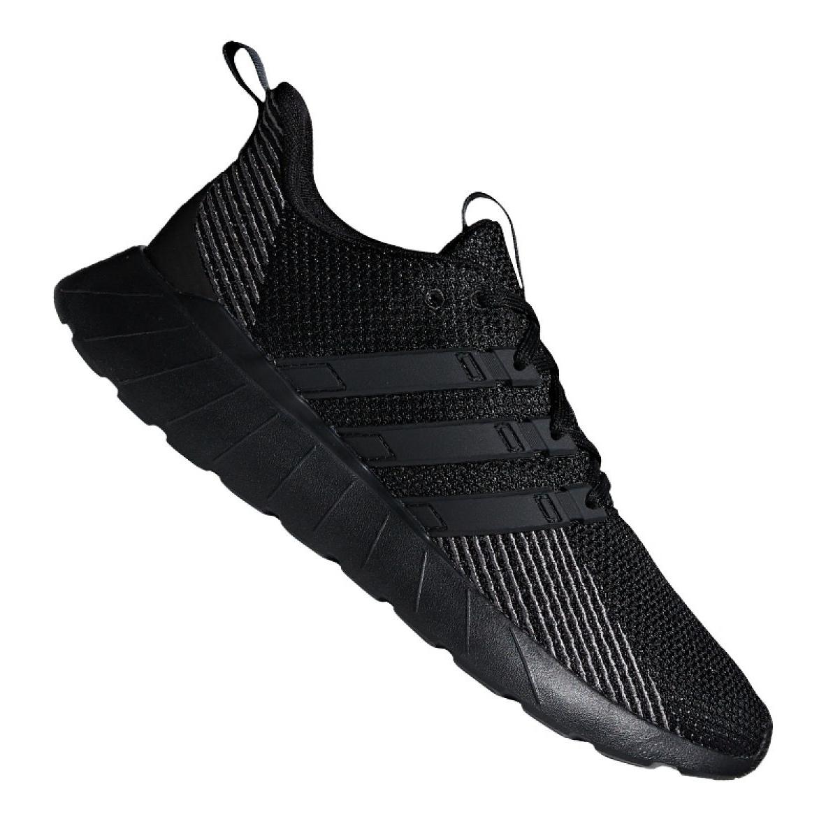 Black Running shoes adidas Questar Flow M F36255