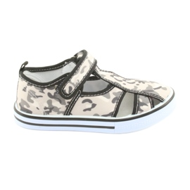 American Club children's shoes with velcro inlay leather