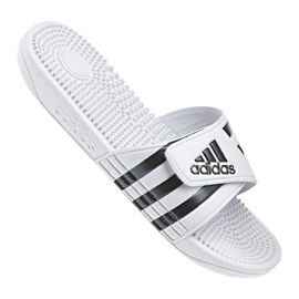 White Adidas M F35573 slippers