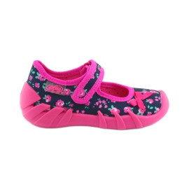 Girls' slippers Befado 109p181 pink