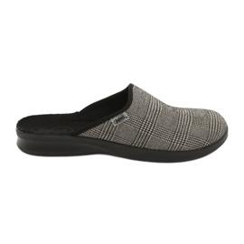 Grey Befado men's shoes pu 548M021