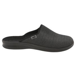 Grey Befado men's shoes pu 548M016
