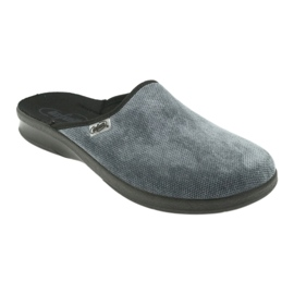 Grey Befado men's shoes pu 548M017