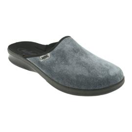 Grey Befado men's shoes pu 548M017