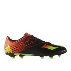 Football boots adidas Messi 15.3 Fg M AF4852 black black