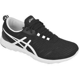 Black Running shoes Asics Supersen M T623N-9001