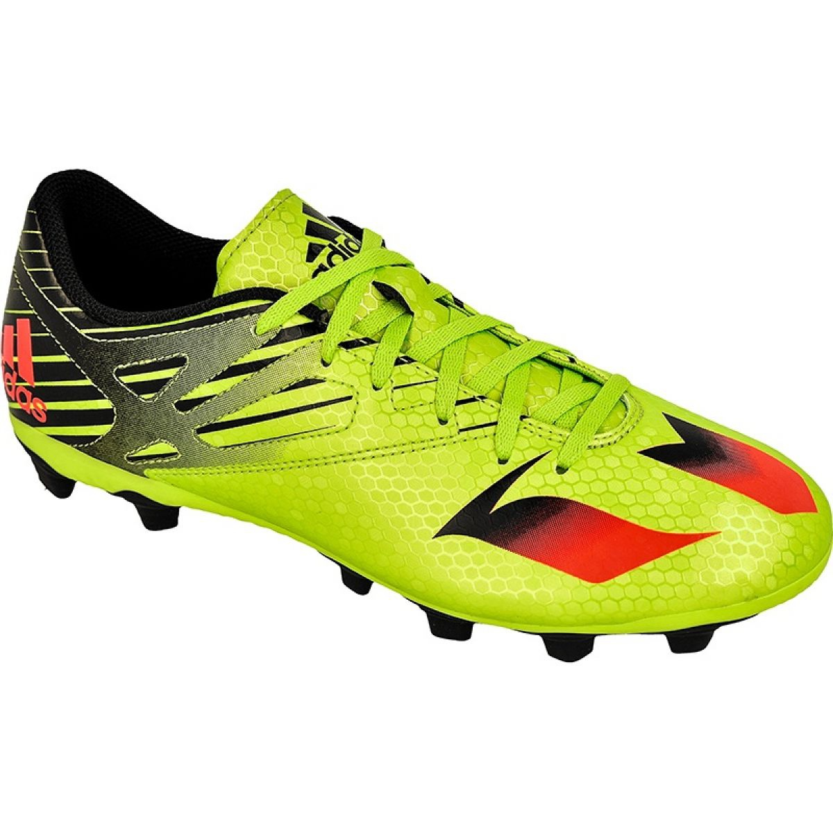 Football shoes adidas Messi 15.4 FxG M S74698 green green