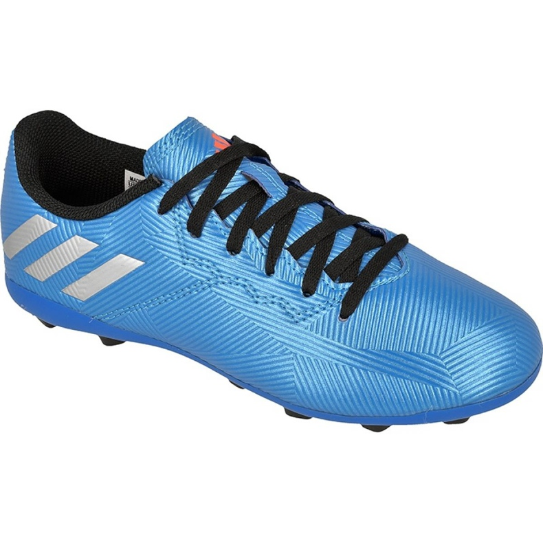 Football boots adidas Messi 16.4 Fxg Jr S79648 blue blue
