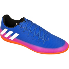 Adidas Messi 16.3 In M BA9018 indoor shoes blue blue