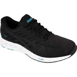 Black Running shoes Asics fuzeX M T639N-9090
