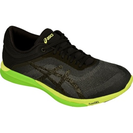 Black Running shoes Asics fuzeX Rush M T718N-9790