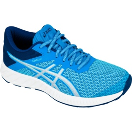 Blue Running shoes Asics fuzeX Lyte 2 W T769N-4393