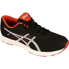 Black Running shoes Asics Fuzor M T6H4N-9000