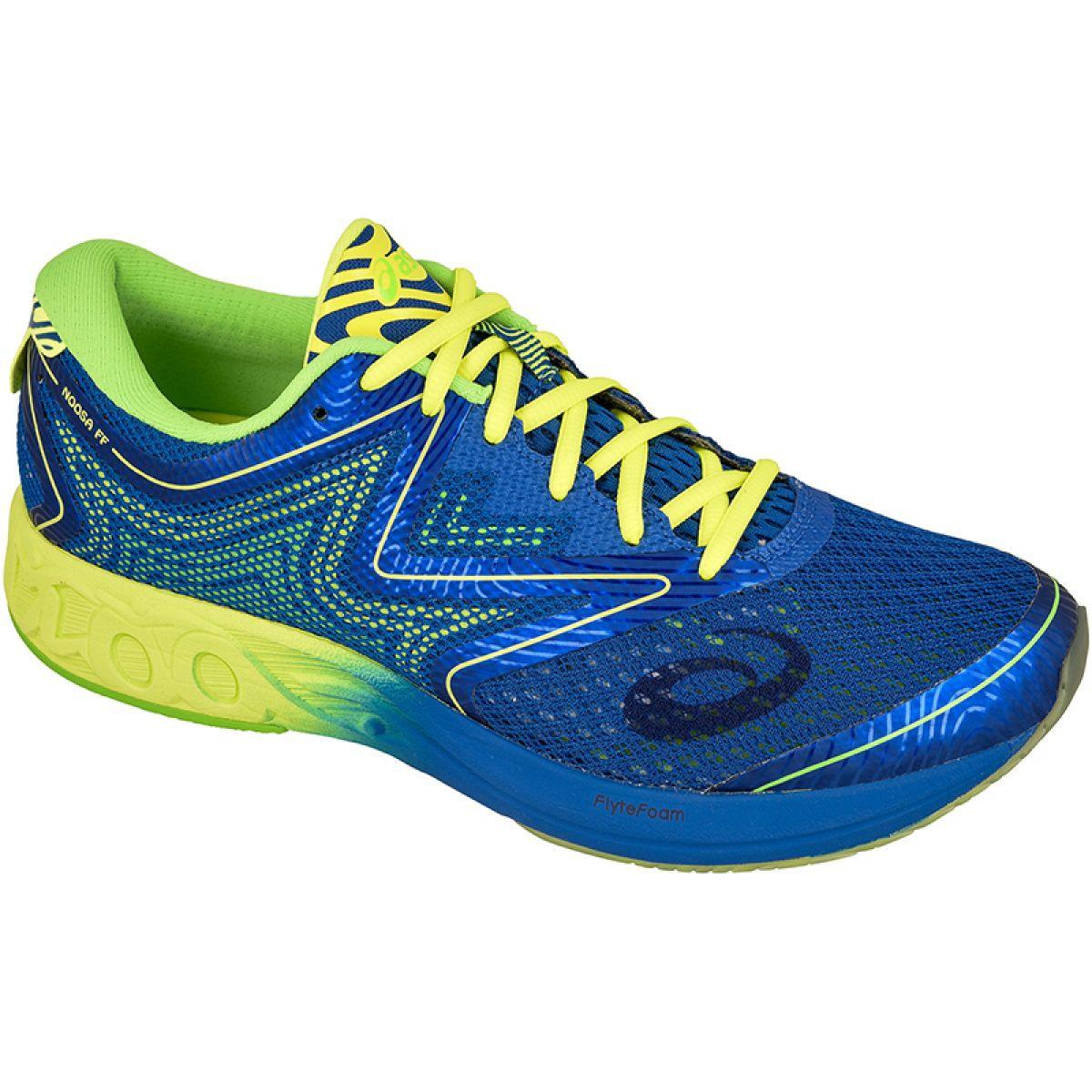 monitor Involucrado Ewell  Running shoes Asics Noosa Ff M T722N-4507 blue - ButyModne.pl