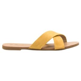 Primavera yellow Comfortable Flat Slippers