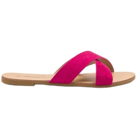 Primavera pink Comfortable Flat Slippers