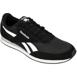 Black Shoes Reebok Royal Classic Jogger 2 M V70710