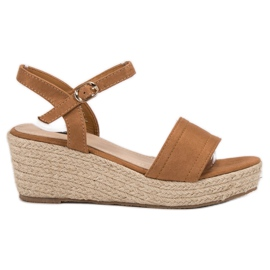 Vices brown Platform Sandals