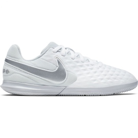 arena partícipe resistencia  Indoor shoes Nike Tiempo Legend 8 Club Ic Jr AT5882-100 white white -  ButyModne.pl