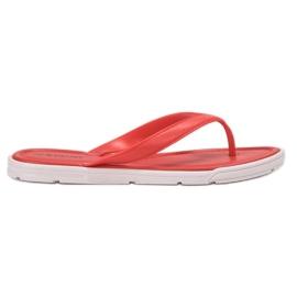 Seastar red Rubber flip-flops