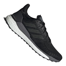 Black Running shoes adidas Solar Boost 19 M EF1413