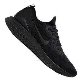 Black Running shoes Nike Epic React Flyknit 2 M BQ8928-011