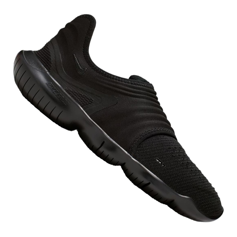nike free run black shoes