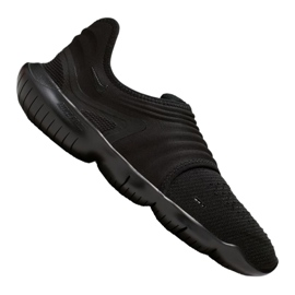 Black Running shoes Nike Free Rn Flyknit 3.0 M AQ5707-006