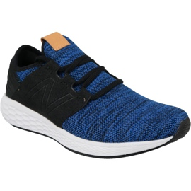Running shoes New Balance Fresh Foam Cruz v2 M MCRUZKR2 blue