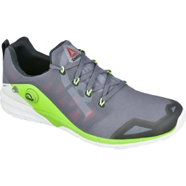 Grey Reebok ZPump Fusion 2.0 M V68290 training shoes