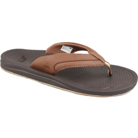 Brown New Balance M M6080BR flip-flops