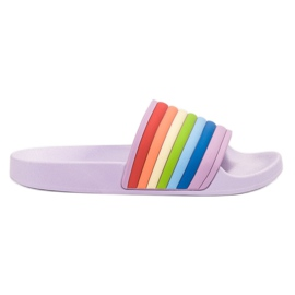 Sweet Shoes Colorful Rubber Slippers