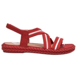 Seastar Comfortable Women's Sandals red