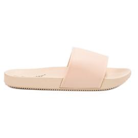 Seastar brown Beige Slippers
