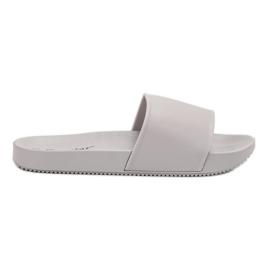 Seastar grey Gray Slippers