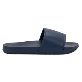 Seastar blue Navy Slippers