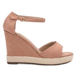 Seastar pink Weddered Sandals