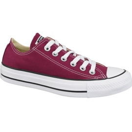 Shoes Converse Chuck Taylor All Star Ox M9691C burgundy
