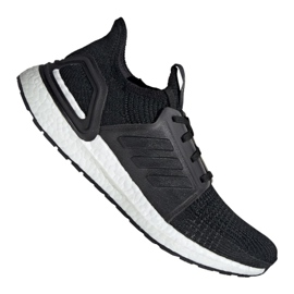 Black Running shoes adidas UltraBoost 19 M G54009