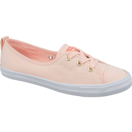 Converse Chuck Taylor All Star Ballet Lace Slip 564313C orange shoes