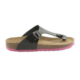 Medical flip flops BIOX black