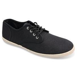 Sneakers Espadrilles Straw Sole 8740 Black