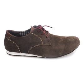 Brown Urban Shoes Casual 4245 Beige