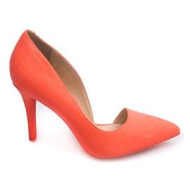 Suede Pins 4006 Orange