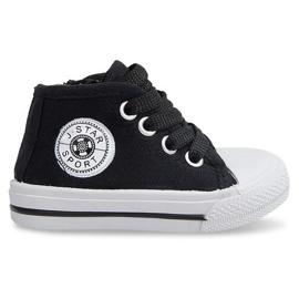 High Children's Sneakers Y1309 Black