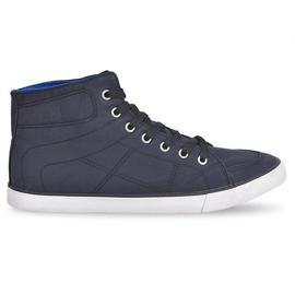 High Sneakers Casual 033 Black