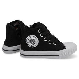 High Children's Sneakers Y1312 Black